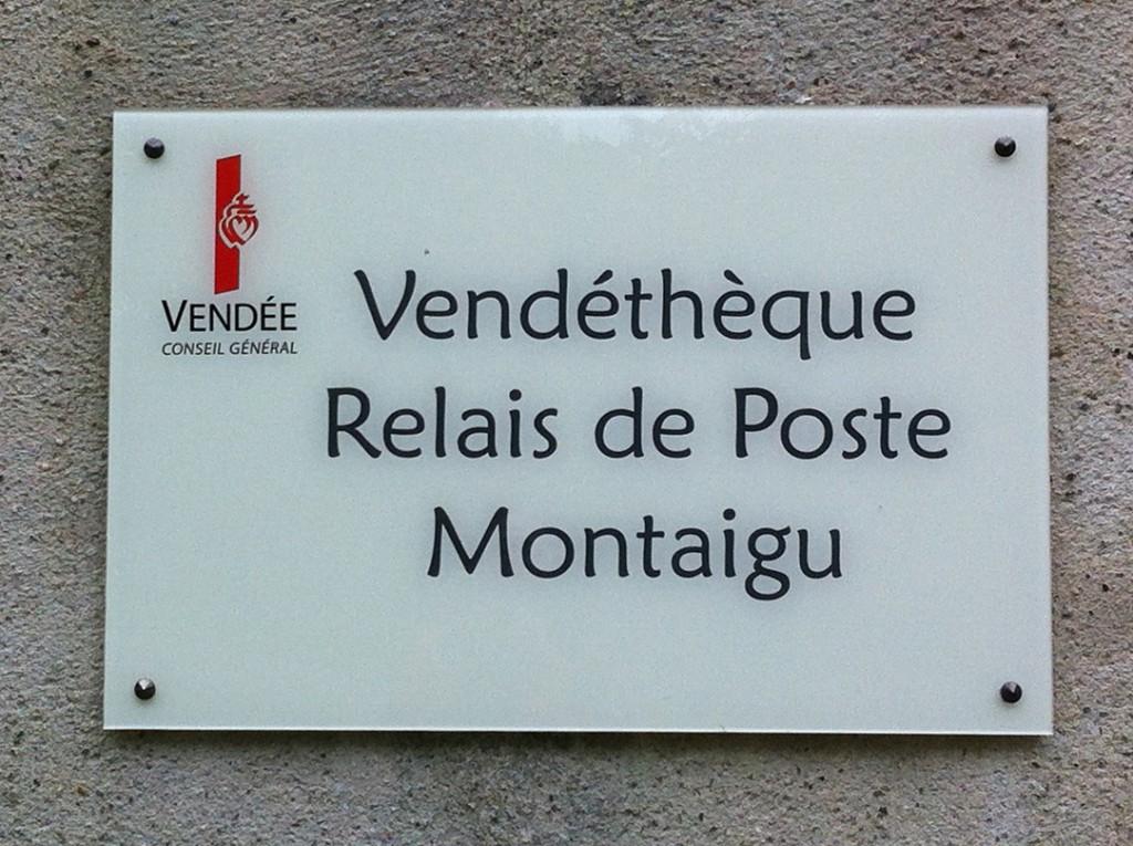 Vendéthèque Relai de poste Montaigu