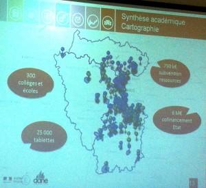 Synthèse académique cartographique