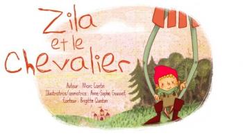 Zila et le chevalier | Cantin, Marc
