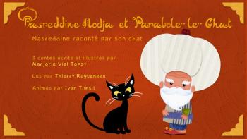 Nasreddine Hodja et Parabole le chat | Vial Topsy, Marjorie
