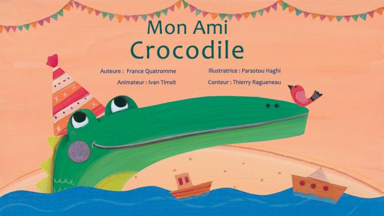 Mon ami crocodile
