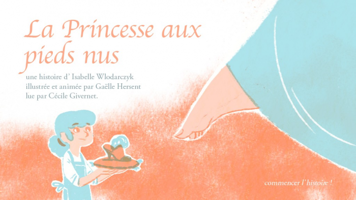 La princesse aux pieds nus | Wlodarczyk, Isabelle
