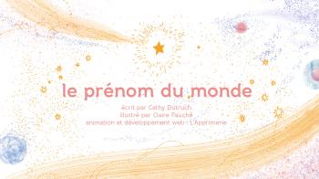 Le prénom du monde | Dutruch, Cathy