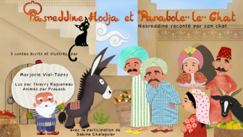 Nasreddine Hodja et Parabole le chat 2 | Vial Topsy, Marjorie