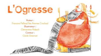 L'ogresse | Pellaud, Francine