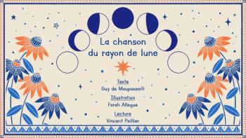 La chanson du Rayon de Lune | de Maupassant, Guy