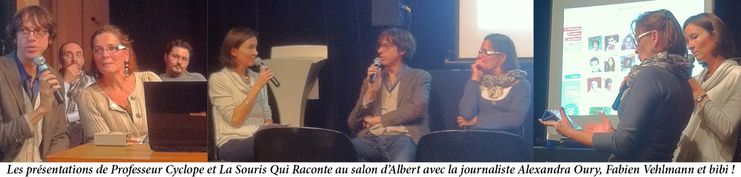 Presentation LSQR salon d'Albert