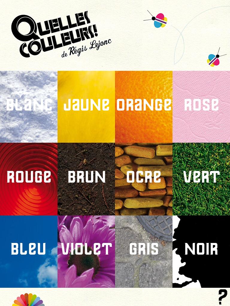 Quelles couleurs ! Un imagier brillant !   Le blog de La Souris