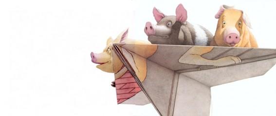 «Les trois cochons» Médaille Caldecott 2002